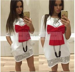Wholesale woman briefs - Promotions 2017 summer style bowknot new fashion casual dress dresses vestido de festa women dress plus size piece Dress