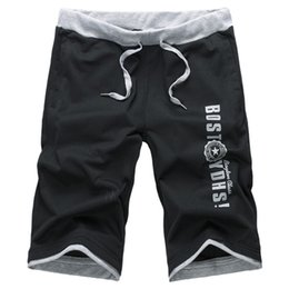 Wholesale Wholesale Knit Shorts - Wholesale-New 2016 Summer Casual Pantalones Cortos Comfortable Knitted Short Men Breathable Elastic Waistband Shorts For Men Plus Size 4XL