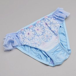 Wholesale Wholesale Japanese Underwear - Japanese style fashion underwear Female low waist cute girl sexy lace panties breathable briefs for girls
