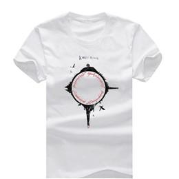 Wholesale Men S Fashion Rings - Lord Of The Rings New Fashion Men's T-shirts Short Sleeve Tshirt Cotton t shirts Man Clothing Free Shipping