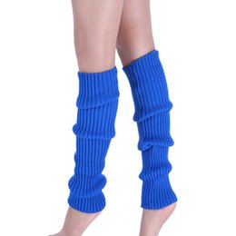 Wholesale Ladies Fashion Boots Wholesale - Wholesale- Autumn Winter Stylish Women Fashion High Quality New Pure Colour Warmer Boot Cuffs Lady Leg Warmers Knitted Leg Stockings Nov1