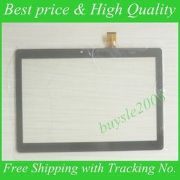 "Средний дигитайзер планшета онлайн-Wholesale- For URSUS TS310 Tablet Capacitive Touch Screen 10.1"" inch PC Touch Panel Digitizer Glass MID Sensor Free Shipping"