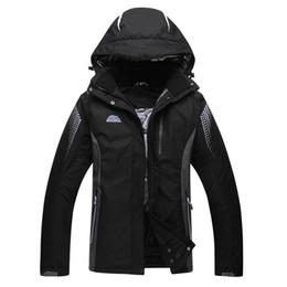 Wholesale Men Costume Cheap - Wholesale- Black Green Blue Pure Colors Jacket Cheap Men or Woman Unsex Ski snowboar skiing Clothes outdoor Costume Winter coat snow jacket