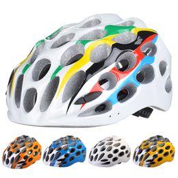 Wholesale Safety Cap Helmet - 41 Holes Super Breathable Cycling Helmet Ultralight Safety Cycle MTB Road Bicycle Bike Helmet EPS Unique Shape Sport Cap(Size:52-61cm)