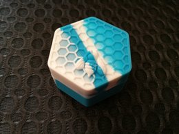 Antiadhésif Honeybee contenants de cire 26 ml hexagone miel abeille récipient en silicone ? partir de fabricateur