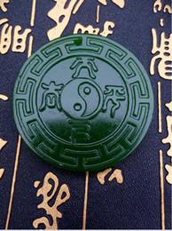 Wholesale Hotan China - Free shipping China's xinjiang hotan jade antique pendant A1