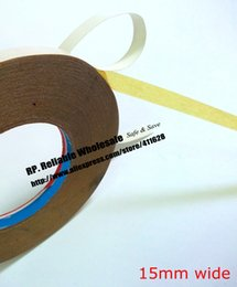 Wholesale Tape For Fabric - Wholesale- 2016 15mm wide, 30M Double Sided Oil Glue Tape for Clothes, Fabric Sewing Fasten, Embroidered Adhesive, Handmade DIY