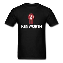 Wholesale Hooded Long Sleeve Tees Men - Wholesale- Kenworth Trucks Men's T-Shirt T660 660 Classic Semi Truck T Shirts PETERBILT TRUCK Scania Super Tee Man trucks euro sizeS-XXXL