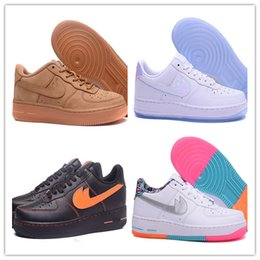 Wholesale Force Shoes - 2017 Hot Sale High Quality Forces I one Men Women Caual Shoes Unisex Massage Low Flat Leisure Shoes skateboarding shoes size eur 36-46