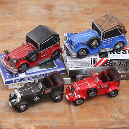 Wholesale Classic Metal Works - Classic Car Ornaments Gifts Retro Outdoor Decor Do The Old Wrought Ornaments Creative Home Decorators Metal Decorative Items