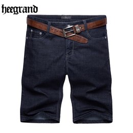 Wholesale Grand Big - Wholesale- HEE GRAND 2017 Summer Men Jeans Male Comfortable Men High Quality Big Size 30~52 New Fashion Man Jeans MKD1260