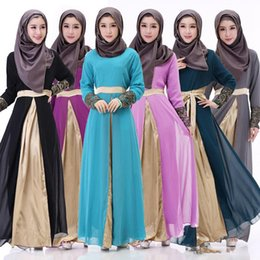 Wholesale Muslim Abaya For Sale - Popular Sales Muslim Dress Abaya in Dubai Islamic Clothing for Women Long Sleeve Muslim Abaya Robe Musulmane