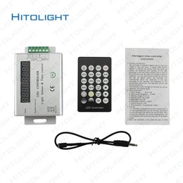 Wholesale Led Time Controller - DC12-24V 24key IR Intelligent Light Sensor Time Control Controller 24hour Time Controller for LED Strip Photosensitive and Timing LED Dimmer