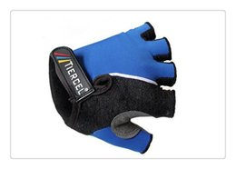 Wholesale Saxo Bank Gloves - latest style tinkoff saxo bank Cycling Gloves Half Finger popular Guantes de ciclismo comfortable and durable Outdoor Sports glove