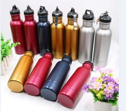 Wholesale Wholesale Beer Coolers - Beer Bottle Armour Koozie Keeper Stainless Steel Beer Cooler Sports Bottles Insulator With Bottle Opener 5 Colors OOA1867