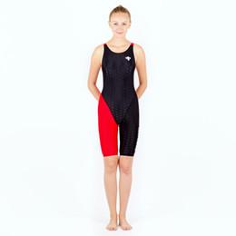 Wholesale Girls Swimwear Long - HXBY Women Girls fastskin Full Waterproof Body Suit Swimwear Long Sleeve Arena Competitive Swimming Swimsuit-963