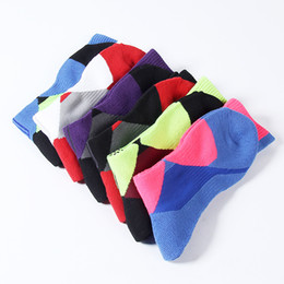Wholesale Badminton Towel - Professional Sports Socks Thicken Towels High Quality Fabric For Men And Women Breathable Outdoor Sport Sock No Fading 4dl F1