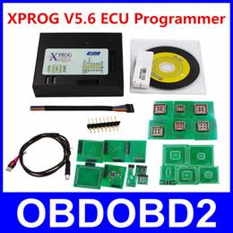 Wholesale Xprog Box - New Arrivals XPROG V5.60   V5.70 ECU Chip Tuning Programmer X-PROG M Box 5.60 USB Dongle Xprog-M 5.6 Better Than X Prog V5.55