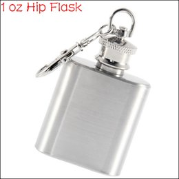 Wholesale Shot Bottles - Wholesale- by DHL or EMS 500 pcs Portable Stainless Steel 1Oz Hip Flasks Drinkware Russian Painting Flask Whiskey Bottle Shot Gun Flask