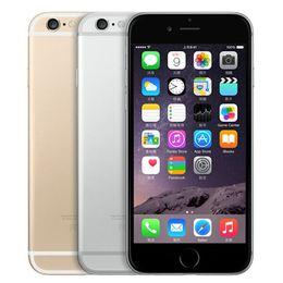 Canada Apple iPhone 6 reconditionné avec empreinte digitale 4,7 pouces A8 Chipset 1 Go de RAM 16/64 / 128GB ROM IOS 8.0MP déverrouillé LTE 4G Smart Phone 1pcs Offre