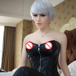 Wholesale Pussy Doll Sexy - Solid Silicone Metal Skeleton Sex Dolls 158cm Skeleton Adult Doll Vagina Lifelike Pussy Realistic Sexy Doll for Men Big Breast