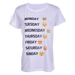 Wholesale Emotion Fashion - Wholesale- Hot fashion emoji t shirt hot style emotions tshirt summer funny clothes unisex women men top tees t-shirt clothing