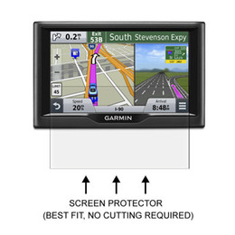 Wholesale garmin nuvi screens - Wholesale- 3* Clear LCD PET Film Anti-Scratch Screen Protector Cover for Garmin Nuvi 57 57LM 57LMT 58 58LM 58LMT Aviation GPS