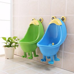 Wholesale Grass Toilet - 2017 Children Stand Urinal Boys Potty Training Toilet Hang On Wall Urinary Baby Urinal Free Shipping