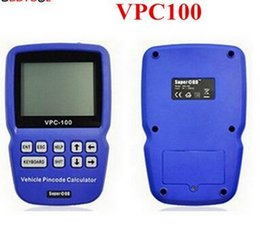 Wholesale new vpc - New arrival VPC-100 Hand-Held Vehicle PinCode Calculator with 300+200 Tokens Life time free update free shipping