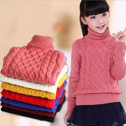 Wholesale Children Red Pullover Sweater - Baby Girls clothing sweater baby Boys Pullover kids sweaters children clothing girls knitted thickening sweater clothing D0076