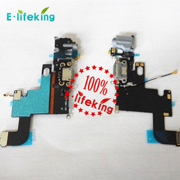 Wholesale Charger Ribbon - Dock Connector Charger For iPhone 6 6 Plus 6S 6s Plus Charging Port Flex Cable Ribbon Replacement with Free Shipping