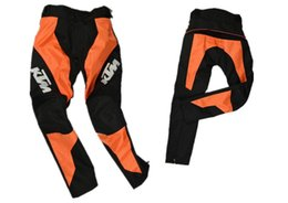 Wholesale Pants Ktm - New High Quality ktm motorcycle pants racing warm trousers Racing off-road motorcycle professional racing pants with protector free shipping