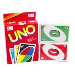 Wholesale Paper Puzzle Games - UNO Board Games For 2-10 Peoples ,108PCS Cards Children Toy Puzzle Cards With English Instructions