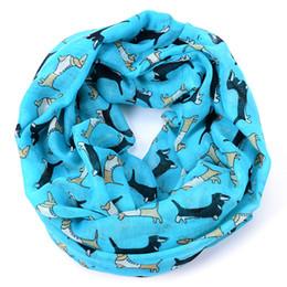 Wholesale-Dachshund infinity eşarp lot fular kadın sosis köpek bufandas mujer echarpes foulards femme kış takca döngü atkı 2015 cheap dog scarves wholesale nereden toptan köpek eşarpları tedarikçiler