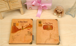 """Wholesale Little Notebooks Wholesale - """"Little Prince"""" Hard Cover Any Year Diary Cute DIY Planner Pocket Journal School Study Notebook Korean Agenda Notepad Memo Gift"""