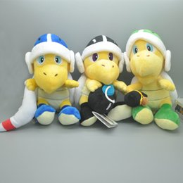 "Wholesale Super Mario Boomerang - EMS New 3 Styles 8"" 20CM Koopa Troopa Plush Super Mario Bomb Boomerang Hammer Toy Anime Collectible Dolls Party Gifts Soft Stuffed Doll Toys"