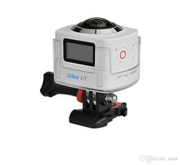 Wholesale High Definition Wireless Camera - POWPAC 360-degree panoramic camera 12 million pixel high-definition outdoor mini digital camera wireless WIFI Self-DV recorder
