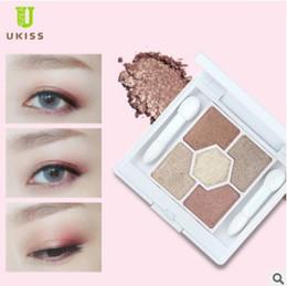 Wholesale Eyeshadow 5g - eyeshadow palette UKISS Fantasy Eye Shadow Five Colors Earth Zone Waterproof Eyes Makeup Eyeshadows Stick 5g Free Shipping