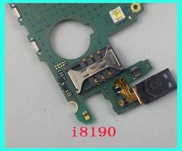 Wholesale S3 Motherboard - Good quality Original Unlock Motherboard For Samsung Galaxy s3 mini i8190 mainboard Logic Board free shipping