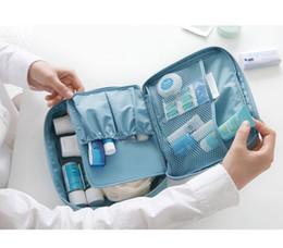 Wholesale Korean Hottest Handbag - Storage Cosmetic Makeup Bag Purse MP3 Mp4 Phone Travel Insert Handbag Organizer fashion bag in bag Sundry Zipper Hot