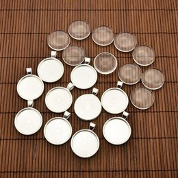 Wholesale Photo Pins - 25mm Transparent Clear Domed Magnifying Glass Cabochon Cover for Alloy Photo Pendant Making, Cadmium Free & Lead Free & Nickel