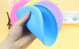 Wholesale Throwing Flying Toys - Disk cheaper silicone pet fly disk Silicone Flying Frisbee,Harmless silicone flying Disc Throwing Toy fo puppy Training Frisbee Flying Disc