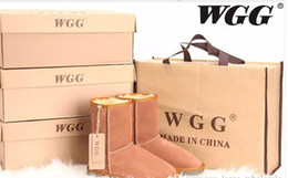 Wholesale Tall Leather Suede Boots - Free shipping 2017 High Quality WGG Women's Classic tall Boots Womens boots Boot Snow Winter boots leather boot US SIZE 5---10