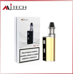 Wholesale Cigar Factory - Mjtech OLAX X9 kit 2017 New Arrival Ecigarette Vape Cigar Mod 80W Variable Voltage 18500 battery 1500mah Factory Wholesale free shipping DHL