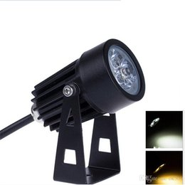 Wholesale Green Led Spot 12v - 3W 6W Outdoor LED Landscape Spot Lights 12V 85-265V LED FloodlightWaterproof Spotlights Warm White Cold White Red Yellow Blue Green Light