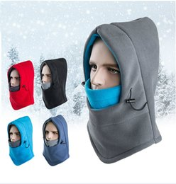 Wholesale Snowboarding Scarves - Outside wind outdoor sports hat skiing in winter hats full face nodding biking and skiing CS mask hooded scarf hat fashion