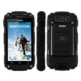 Wholesale Discovery Gps - 5pcs DHL Discovery V8 3G Rugged Smartphone 4.0 Inch Android 4.2 Dual Core 256MB RAM 512MB ROM 2800mAh Wifi GPS Bluetooth