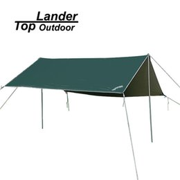 Wholesale Car Candles - Toplander Oxford Camping Refuges Tents 3X3M Waterproof Sun Curtain Candle Anti UV Canvas Refuge Canopy Shade Outdoor Beach Tent