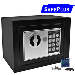 Wholesale Box Office New - NEW Small White Digital Electronic Safe Box Keypad Lock Home Office Hotel For Cash jewelery