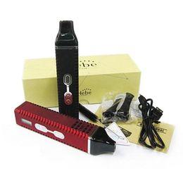 Wholesale E Cigarette Led Kit - Titan 2 Vaporizer Dry Herb Starter Kit with 2200mah Battery Temperature LED Vape Pen E Cigarettes